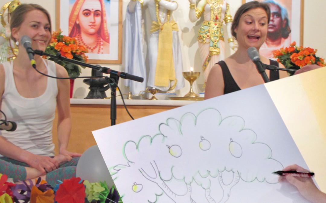 Zeichnen & Kinderyogakongress