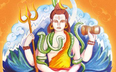 Shiva der Glücksverheißende