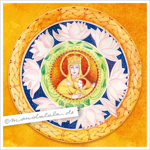 Maria & Jesus - Mandala