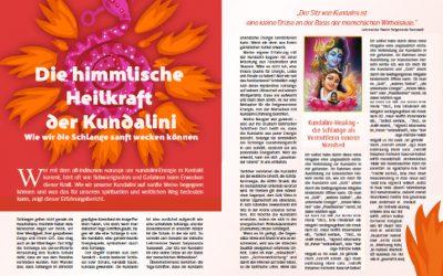 """Kundalini-Illustrationen im Magazin """"Das Wesentliche"""""""
