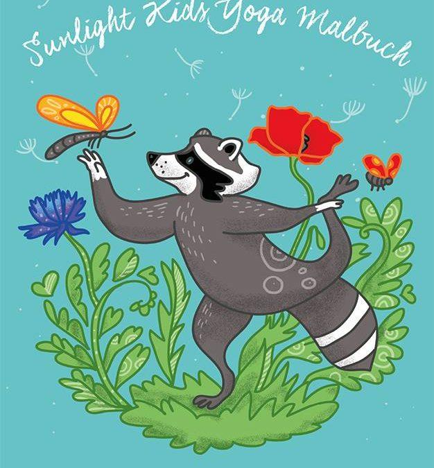 Das wunderbare Sunlight Kids Yoga Ausmalbuch ist da! Jetzt bestellen!