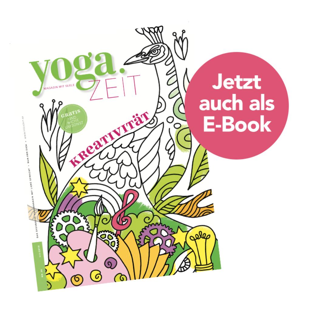 Cover für YogaZeit zum Thema Kreativität