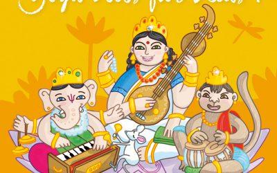 Verpackungsdesign für Sunlight Kids Yoga CDs